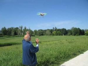 Fiorell..eide con il drone…