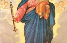 Stasera il Borgo di Rimini porterà  la Madonna in processione..come nella mia Anghiari