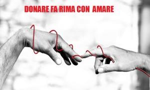 DONARE FA RIMA CON AMARE